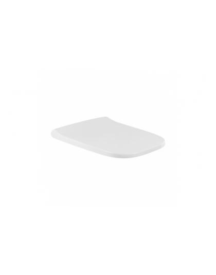 SANINDUSA Κάλυμμα λεκάνης Look βαρέως τύπου soft closing slim - Καλύμματα SANINDUSA στο  frantzisoe.gr