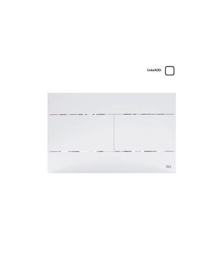 Πλακέτες για καζανάκι OLI Slim Λευκό - Πλακέτες στο  frantzisoe.gr